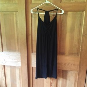 Athleta black dress